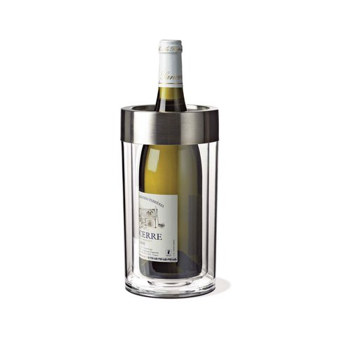 Double+Walled+Iceless+Wine+Bottle+Chiller